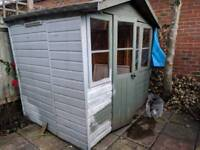 FREE SHED TO BE DISASSEMBLED AND TAKEN