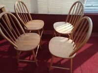 Farmhouse style kitchen chairs