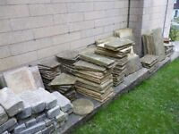 Paving slabs and blocks