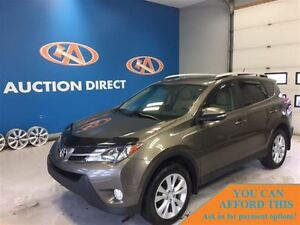 2013 Toyota RAV4 LIMITED! AWD! LEATHER! SUNROOF! FINANCE NOW!