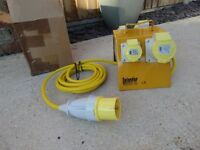 .DEFENDER 4 WAY SPLITTER BOX 2x16A2x32A Defender Power And Light