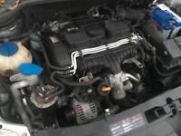 Seat Leon FR 2.0 TDI 2009 KNY 6 Speed Manual Gearbox Audi vw skoda