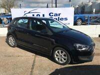 VOLKSWAGEN POLO 1.4 SE 5d 85 BHP A GREAT EXAMPLE INSIDE AND OUT (black) 2010