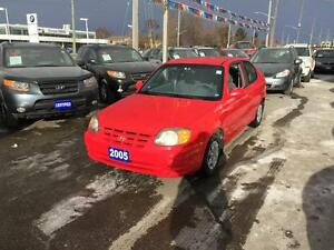 2005 Hyundai Accent GT 3-Door