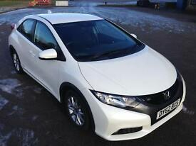 HONDA CIVIC (2012) PEARL WHITE (5 Doors)