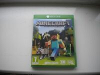 MINECRAFT - XBOX 1 SUPERB -AS NEW (NEVER BEEN PLAYED) - BARGAIN