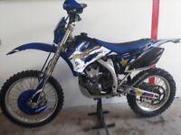 Yamaha wrf250 enduro