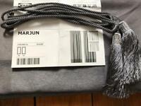 IKEA Marjun curtains 145cm x 300cm with ties
