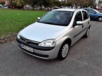 **Vauxhall Corsa 1.2 Mint Condition**Full Service History**LONG MOT**490£**Bargain!!!