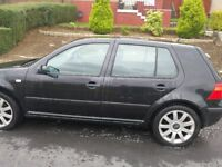 VW golf for quick sale