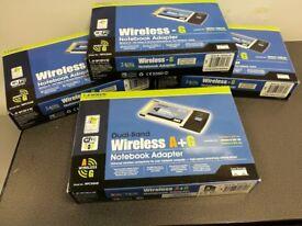 Linksys Wireless - G Notebook Adapter