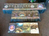 Complete Stargate SG-1 and Atlantis