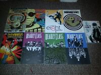 Assortment of 9 x paperback comic books