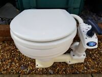Portable toilet for a boat (used)
