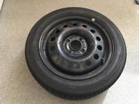 Ford Fiesta Steel Wheel 195-50-R15