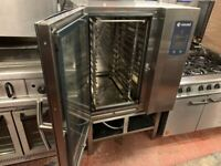 3 PHASE ELECTRIC STEAM COMBI OVEN CATERING COMMERCIAL KITCHEN FAST FOOD TAKE AWAY SHOP
