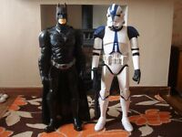 "ACTION FIGURES 30"" TALL-BATMAN PLUS STORM TROOPER COLLECTABLE"