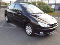 PEUGEOT 206 1.4S LOW INSURANCE 5 DOOR HATCHBACK PART EX WELCOME