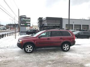 2005 Volvo XC90 T6 - AWD/ CUIR/ TOIT OUVRANT/ PNEUX D'HIVER NEUF