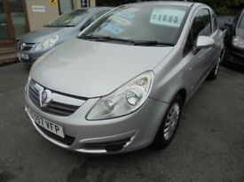 "VAUXHALL CORSA LIFE 2007 ""57"" 1.2 MOT UNTIL JULY 2019,"
