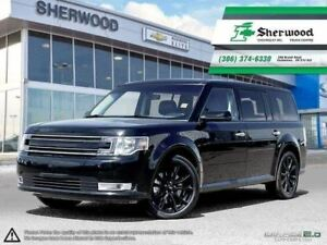 2017 Ford Flex SEL AWD Leather/Roof/NAV & Only 12.000KMS!!