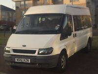 Ford Transit 15 seater Minibus NO MOT! Spares or Repair