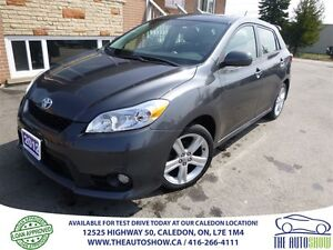 2012 Toyota Matrix SUNROOF! LOW KM!!!