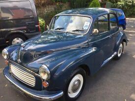 Morris Minor 1964 Saloon Blue