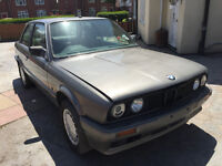 BMW E30 316 I COUPE 2 DOOR 1 OWNER FROM NEW SPARES OR REPAIRS