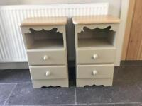REDUCED-Solid Pine Bedside Drawers