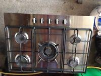 Baumatic 5 ring gas hob