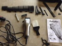 BaByliss For Men Haircutter Shaver Trimming Set in Box