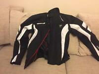 Motorbike jacket as new