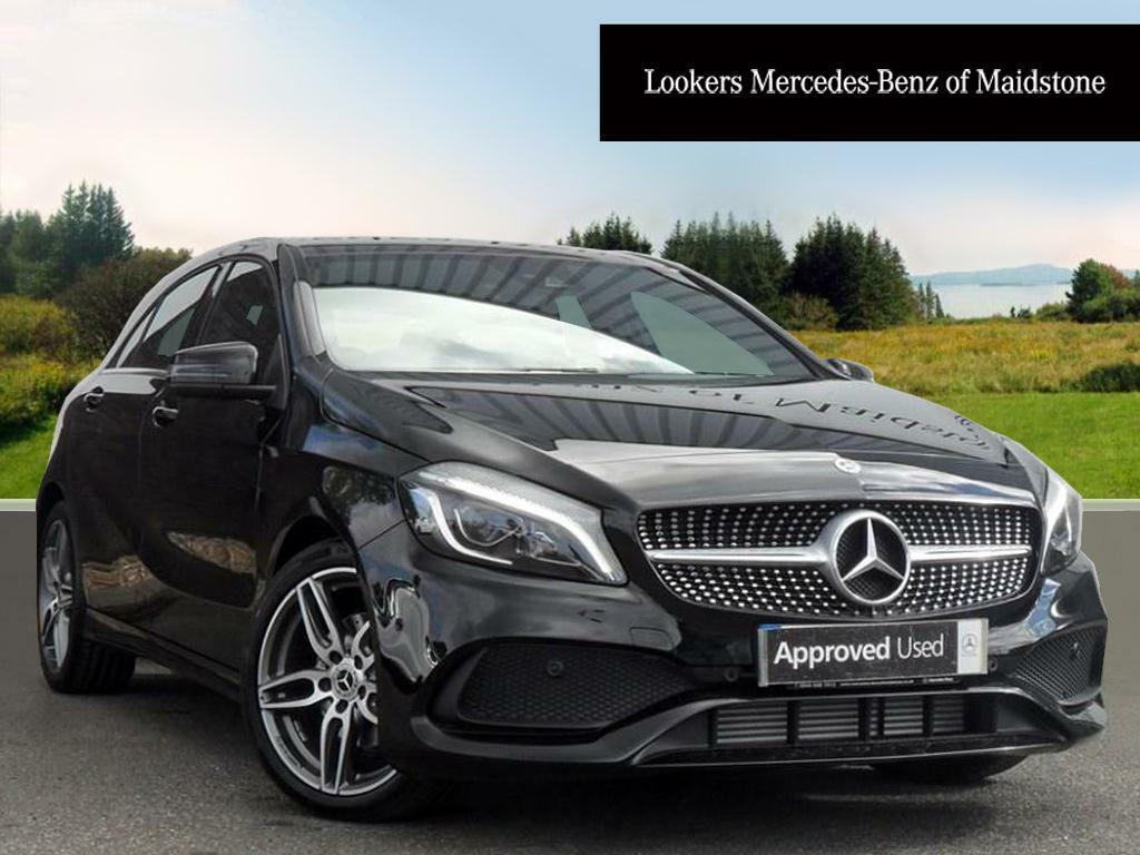 mercedes benz a class a 180 d amg line premium black 2017 05 19 in maidstone kent gumtree. Black Bedroom Furniture Sets. Home Design Ideas