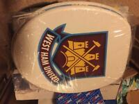 West ham toilet seat brand new cost £40 take £15 bargain nice seat