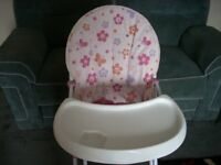 HIGH CHAIR free local delivery