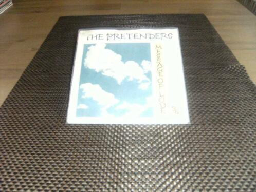 "7"" - The Pretenders - Message of love"