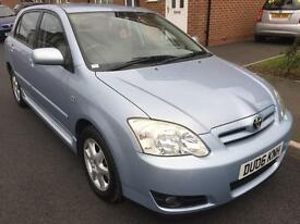 2006 TOYOTA COROLLA COLOUR COL-N VVTI 1.6 PETROL 5 DOOR ONE FORMER KEEPER FULL SERVICE HISTORY ***