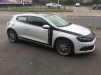 VW Scirocco gt tdi 170 2011 with designed graphics look and 19 inch alloys