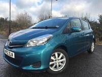 TOYOTA YARIS 1.3 LITRE MANUAL WITH REVERSE CAMERA BLUETOOTH FDSH