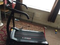 Treadmill - Confidence Fitness folding treadmill - Excellent condition with Box and parts