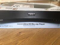 4k UHD Samsung Bluray Player, BRAND NEW IN BOX!