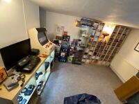 Retro games room - Nintendo, Sega, Atari, Microsoft, Sony, SNK...