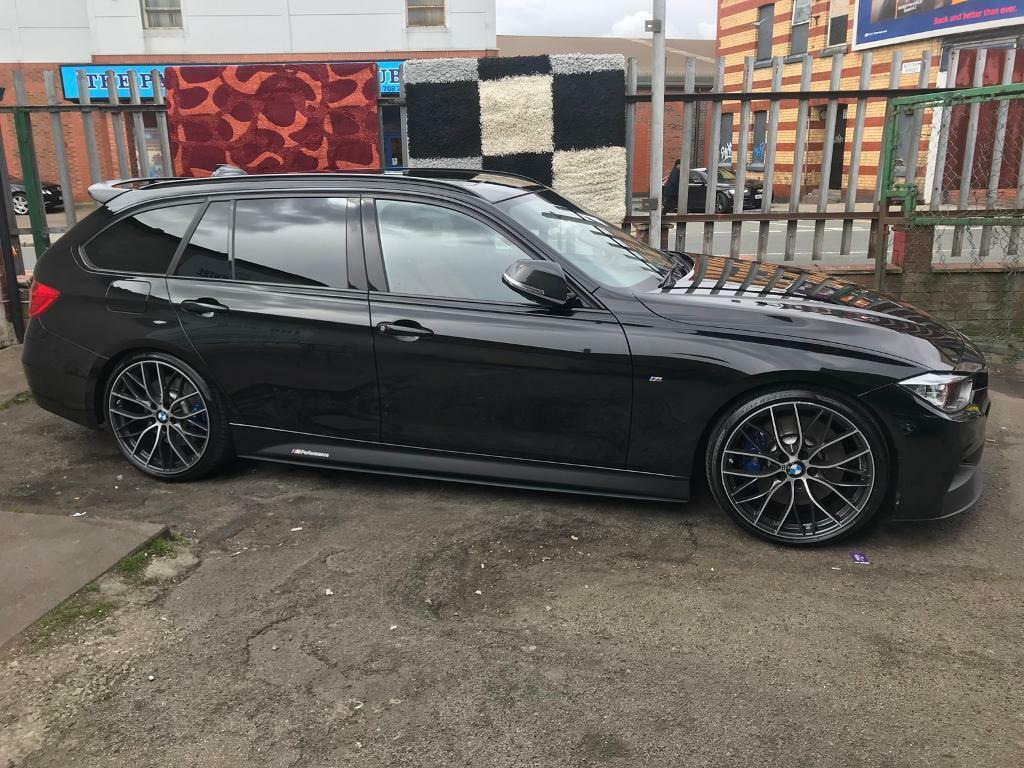 genuine bmw 20 405 m performance allloys and tyres f30. Black Bedroom Furniture Sets. Home Design Ideas