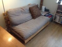 Two seater futon company sofa bed