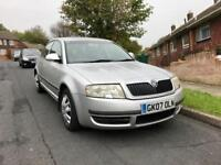 2007 Skoda SuperB 1.9 TDI Saloon - LOW Mileage - 1 YEAR MOT