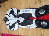 motorcycle leathers one piece rst leathers 46 chest rst tractech trac tech