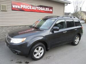 2009 Subaru Forester HEATED SEATS - FULL GLASS ROOF!!!