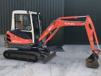 Kubota KX71-3 2.8t Mini Digger. Aux Hydraulics, Just Serviced Finance Arranged Cards Accepted