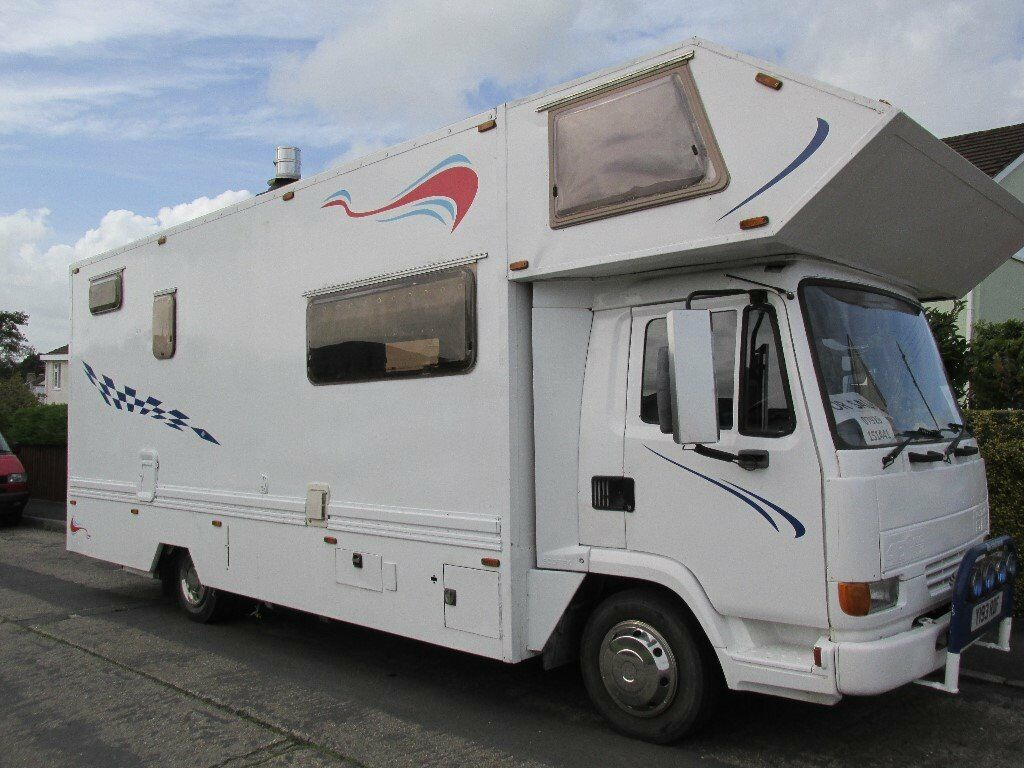 Daf camper lorry motorcross motorcycle race truck with for Garage daf tours